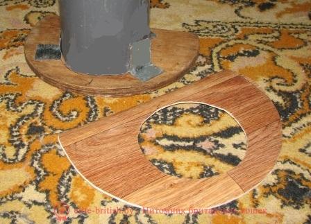 Шкатулка для рукоделия из коробШкатулки из бобины