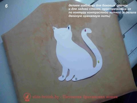 Как сшить котов своими руками выкройки