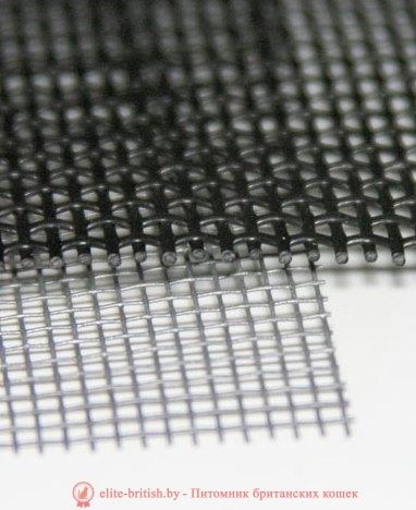 Отличие стандартной москитной сетки от Антикошки