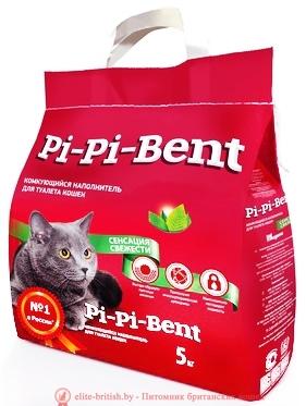 наполнитель для лотка Pi-Pi-Bent